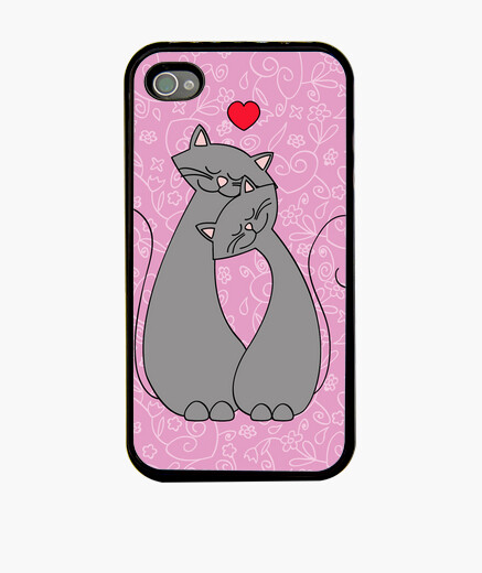Cover iPhone amore gatuno