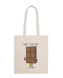 amore il cioccolato