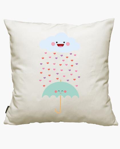 Fodera cuscino amore la pioggia