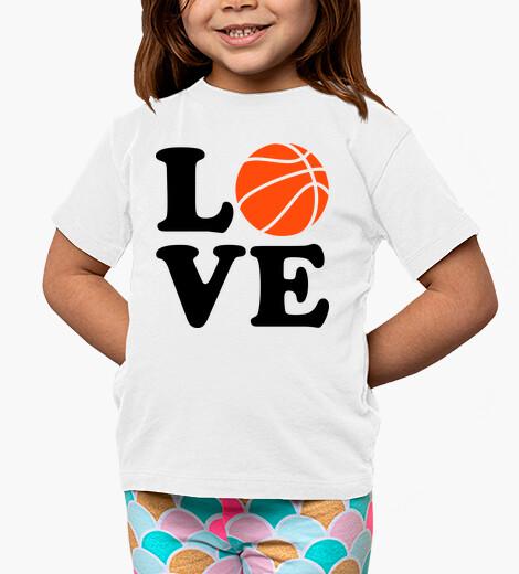 Abbigliamento bambino amore per il basket