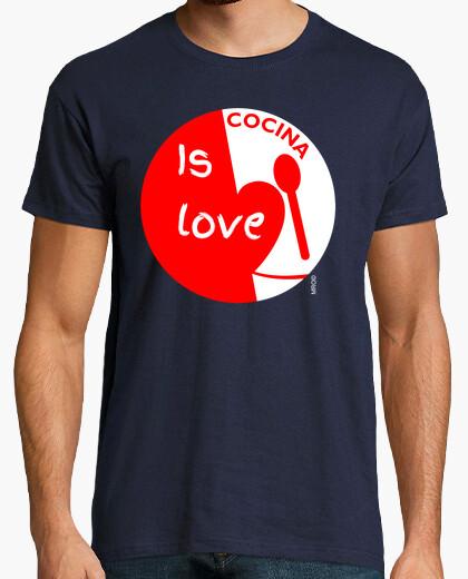 T-shirt amoree per cucina