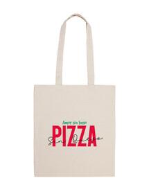 amoree senza baciare la pizza senza che