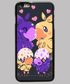 amorevole famiglia choco - cassa del telefono
