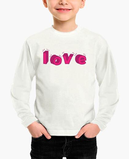 Vêtements enfant amour