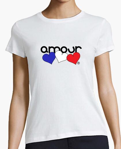 Camiseta AMOUR - AMOR (FRANCÉS)