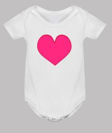 amour bébé coeur