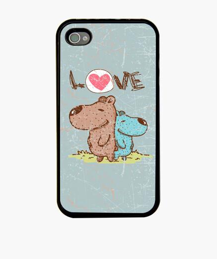 Coque iPhone amour de chien
