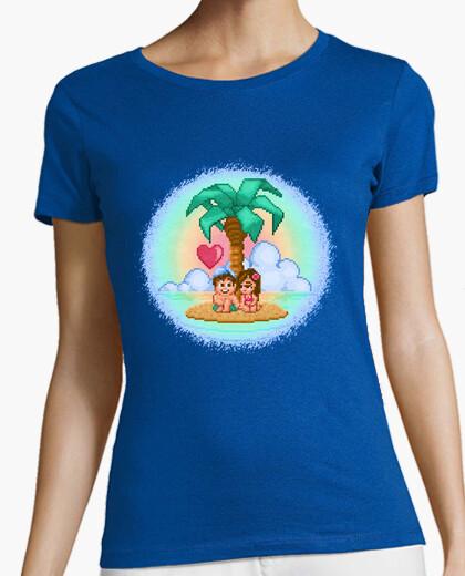 Tee-shirt amour de l'île