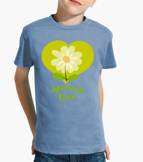 Vêtements enfant amour de printemps