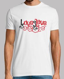 amour esclave - love slave (noir rouge)