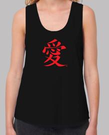 amour japonais rouge