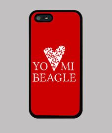 Amour mon beagle