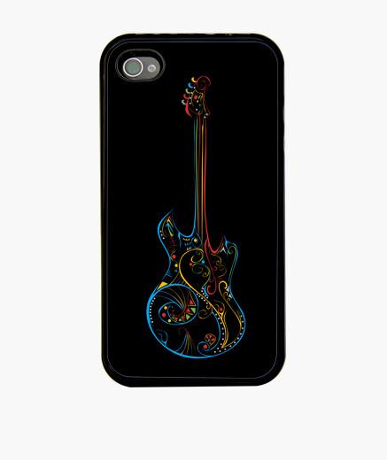 Coque iPhone amour musique couleur guitare