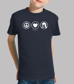 amour paix @shopbebote linux