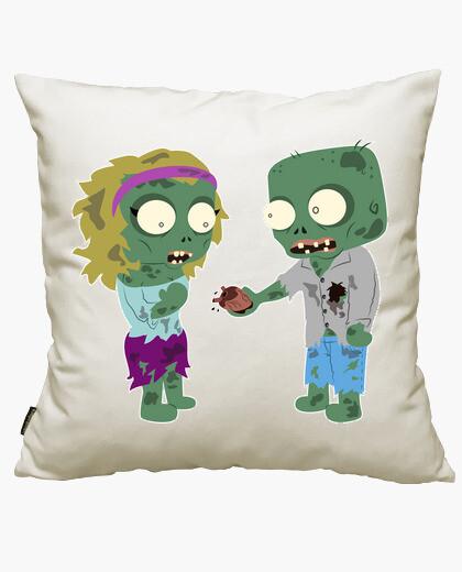 Housse de coussin amour zombie