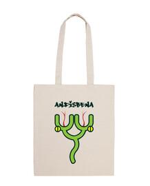 amphibie - sac à bandoulière 100% coton