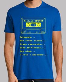 Amstrad CPC 464 - Cinta cargando...