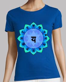 Anahata symbols - Blue