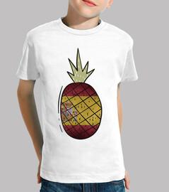 ananas b and epoque espagne / bouclier