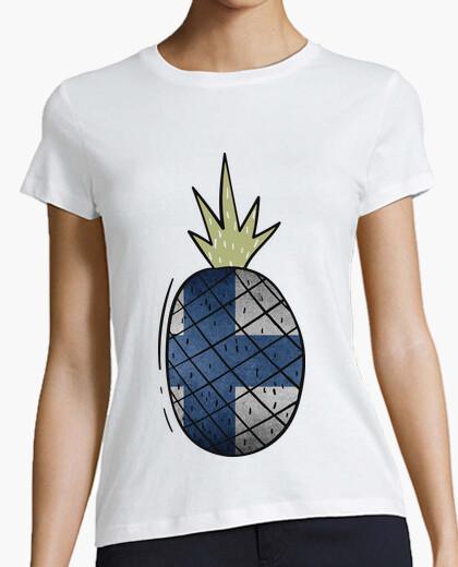 Tee-shirt ananas b and ère finl and ia