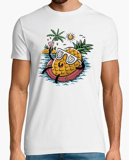 T-Shirt Ananas entspannend