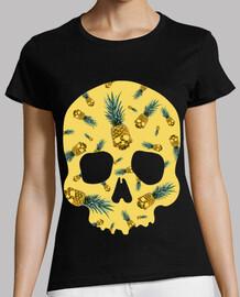 ananas et crâne
