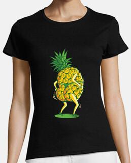 ananas sexy che balla in perizoma