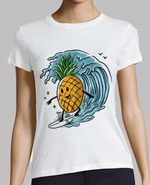 Ananas Surfen