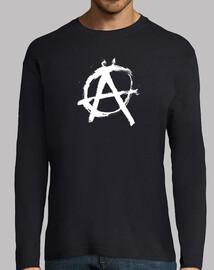 anarchia nero manica lunga