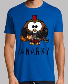 anarky rock t-shirt uomo
