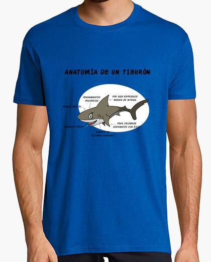 Camiseta Anatomía de un tiburón