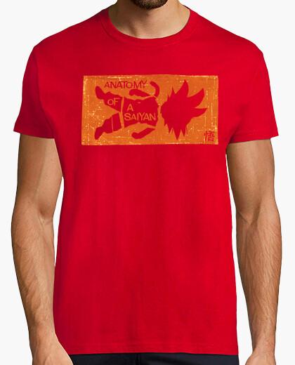 Tee-shirt anatomie d'un saiyan