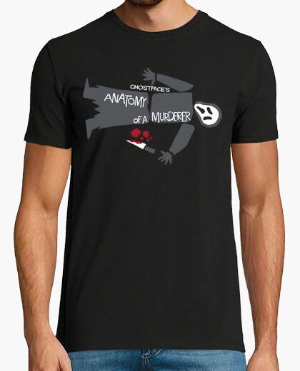 Tee-shirt anatomie ghostface