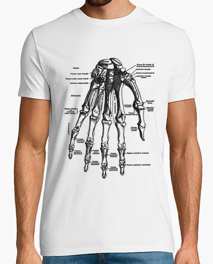 Camiseta Anatomy hand