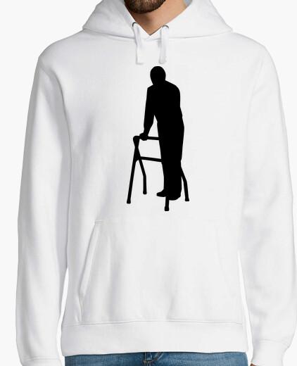 Jersey anciano hombre caminando marco