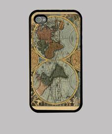 ancienne carte du monde
