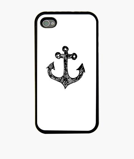 Funda iPhone ancla marina (iphone 4 / 4s)