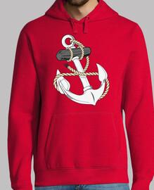ancre de marine avec une corde