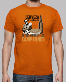 And cereal beer malviviendo-