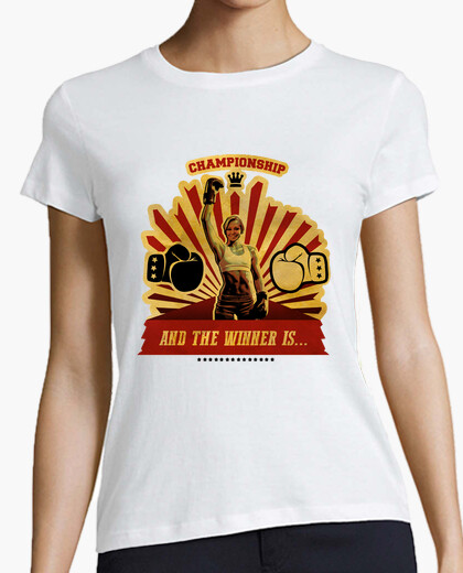 Camiseta And the winner is...