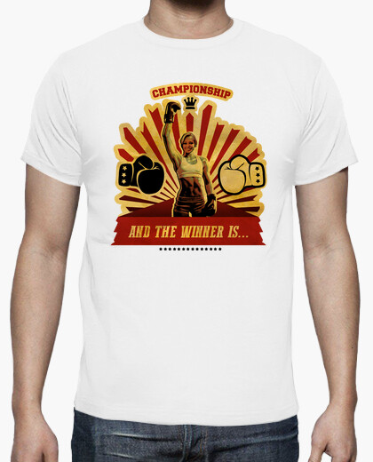 And the winner is ... t-shirt