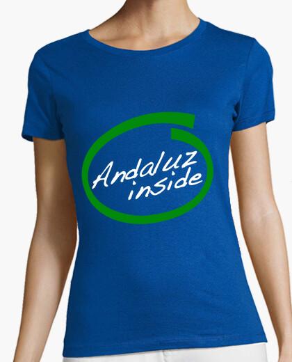 Camiseta Andaluz Inside Tirantes chica