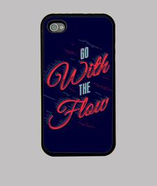andare con il flusso di iphone 4