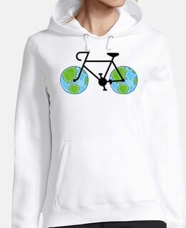 andare per bicicletta in per il mondo