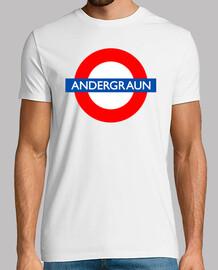Andergraun - camiseta chica