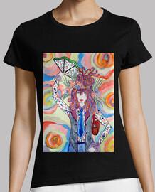 Androgyne T-shirt femme
