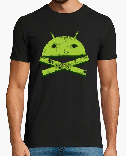 Camiseta Android Skull