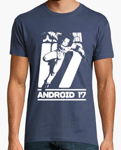 Camiseta Androide 17