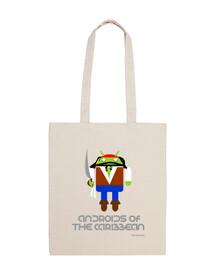 Androids del Caribe bag
