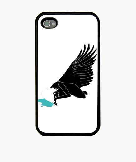 Coque iPhone ange déchu